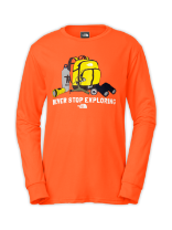 BOYS' CAMP TNF™ LONG-SLEEVE TEE