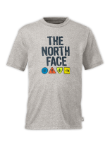 BOYS' CAMP TNF™ SHORT-SLEEVE TEE
