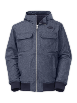 BOYS' HOODED SOFT SHELL JACKET