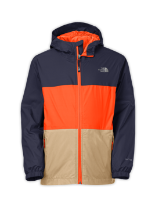 BOYS' LINED EXPLORER RAIN JACKET