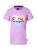 GIRLS' ARGALI SHORT-SLEEVE HIKE TEE