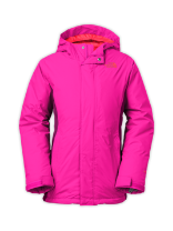 GIRLS' INSULATED VIOLET JACKET