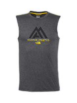 MEN'S  SLEEVELESS GRAPHIC REAXION AMP