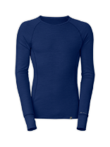 MEN'S WARM BLENDED MERINO LONG-SLEEVE CREW