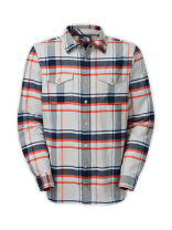 MEN'S LONG-SLEEVE BEARHEAD PLAID SHIRT