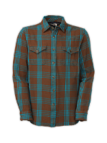 MEN'S LONG-SLEEVE OWLPEAK PLAID SHIRT