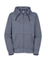 MEN'S REFLECTIVE HALF DOME FULL ZIP HOODIE