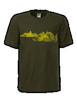 T-SHIRT MOUNTAIN RANGE POUR HOMMES