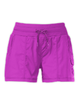 WOMEN'S APHRODITE WOVEN PULL-ON SHORTS