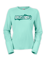 WOMEN'S BSTN REAXION LONG-SLEEVE TEE