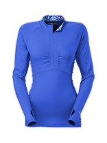 WOMEN'S CASCADE 1/4 ZIP RASH GUARD
