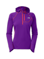 WOMEN'S IMPULSE ACTIVE 1/2 ZIP HOODIE