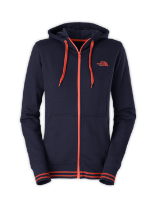 WOMEN'S LOGO STRETCH FULL ZIP HOODIE