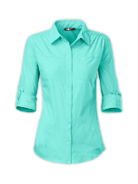 WOMEN'S LONG-SLEEVE COOL HORIZON WOVEN SHIRT