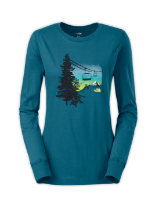 WOMEN'S LONG-SLEEVE FIRST DAWN TEE
