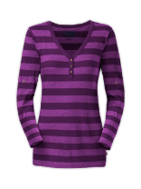 WOMEN'S LONG-SLEEVE SPRING HILL STRIPED KNIT