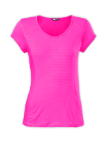 WOMEN'S SHORT-SLEEVE SKYCREST V-NECK TEE