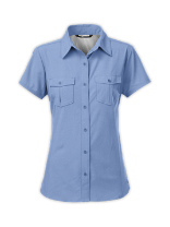 WOMEN'S SHORT-SLEEVE TAGGART WOVEN SHIRT