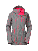 WOMEN'S ABRAH INSULATED Mini Check Jacket