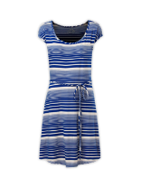 WOMEN'S KAMBRA STRIPED DRESS