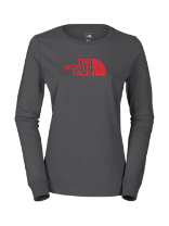 WOMEN'S LONG-SLEEVE HALF DOME TEE