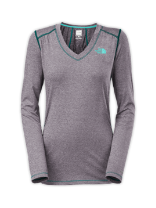 WOMEN'S LONG-SLEEVE RDT V-NECK