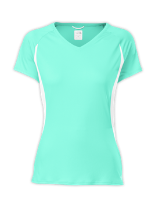 WOMEN'S REFLEX V-NECK SHORT-SLEEVE TEE