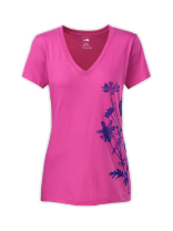 WOMEN'S SHORT-SLEEVE DAISY DOO V-NECK TEE