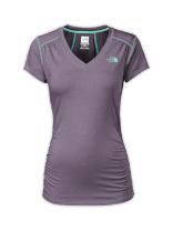 WOMEN'S SHORT-SLEEVE RDT V-NECK