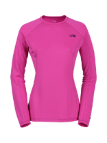 WOMEN'S WARM LONG-SLEEVE CREW NECK
