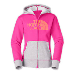 GIRLS' HALF DOME FULL ZIP HOODIE