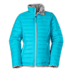 GIRLS' REVERSIBLE MOSSBUD SWIRL JACKET