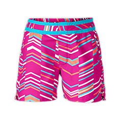 GIRLS' SENESSA PRINTED WATER SHORTS