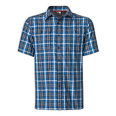 MEN'S SHORT-SLEEVE PINE KNOT WOVEN