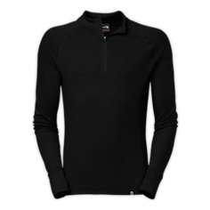 MEN'S WARM MERINO ZIP NECK