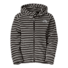 TODDLER BOYS' STRIPED GLACIER FULL ZIP HOODIE
