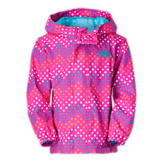 TODDLER GIRLS' DOTTIE TAILOUT RAIN JACKET