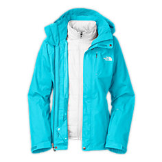 WOMEN'S DEUCES TRICLIMATE JACKET