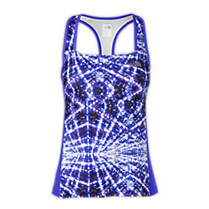 WOMEN'S EAT MY DUST GRAPHIC SPORT TANK