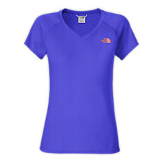 WOMEN'S SHORT-SLEEVE REAXION V-NECK