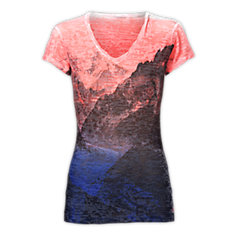 WOMEN'S TADASANA BURN-OUT TOP
