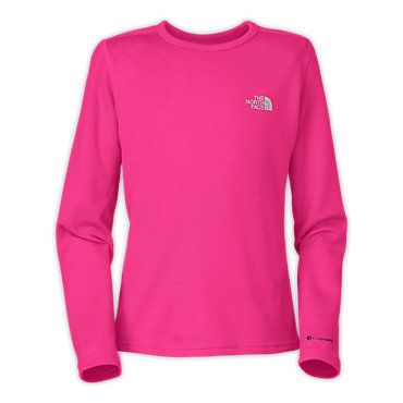photo: The North Face Girls' Long-Sleeve Baselayer Tee base layer top