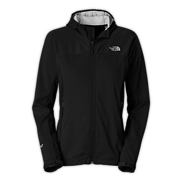 photo: The North Face Women's Cipher Hybrid Hoodie soft shell jacket