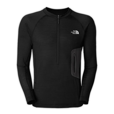 photo: The North Face Men's Long-Sleeve Litho 1/4 Zip base layer top