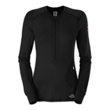 photo: The North Face Women's Long-Sleeve Litho 1/4 Zip