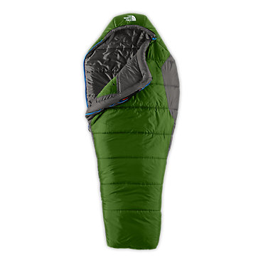 photo: The North Face Men's Aleutian 4S 0 3-season synthetic sleeping bag