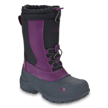 photo: The North Face Girls' Alpenglow winter boot