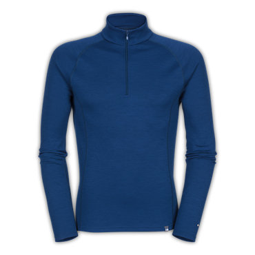 photo: The North Face Warm Merino Zip Neck base layer top