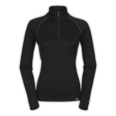 photo: The North Face Women's Warm Merino Zip Neck