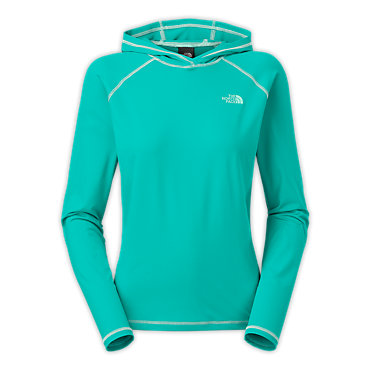 photo: The North Face Women's Water Dome Hoodie long sleeve performance top